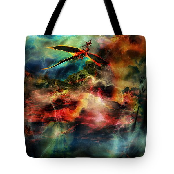 Dragon Realms Vi Tote Bag