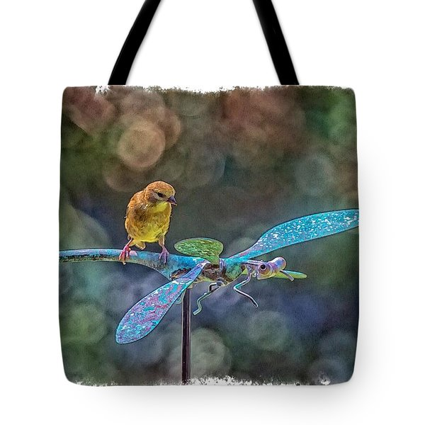 Tote Bag featuring the photograph Dragon Rider by Constantine Gregory