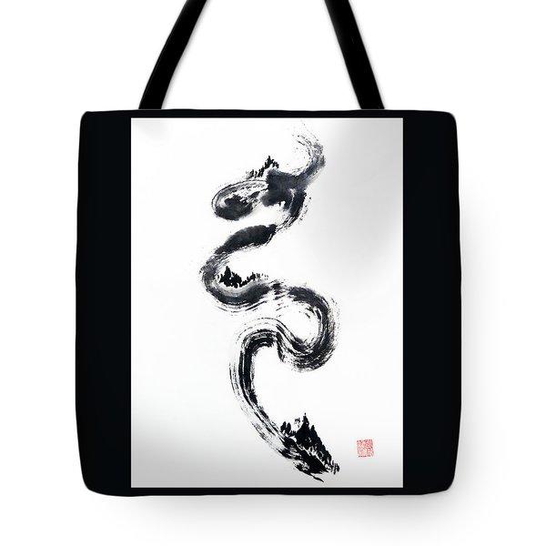 Dragon River Tote Bag