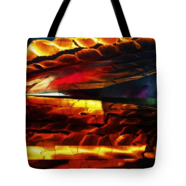 Dragon Scales Tote Bag