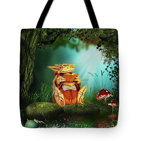 Dragon Tales Tote Bag