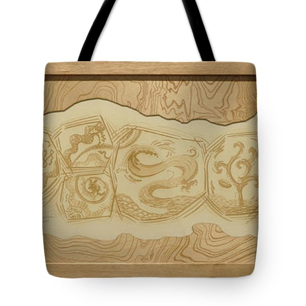 Dragon - The Spirit Of Water  Tote Bag