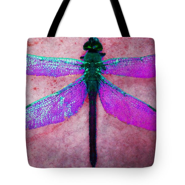 Dragonfly 6 Tote Bag by Timothy Bulone