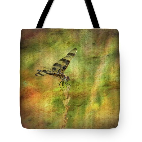 Dragonfly Art Tote Bag