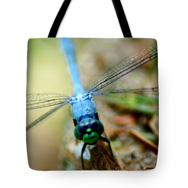 Dragonfly Closeup Tote Bag