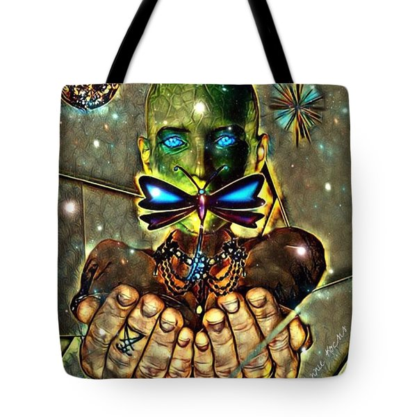 Dragonfly Empath Tote Bag
