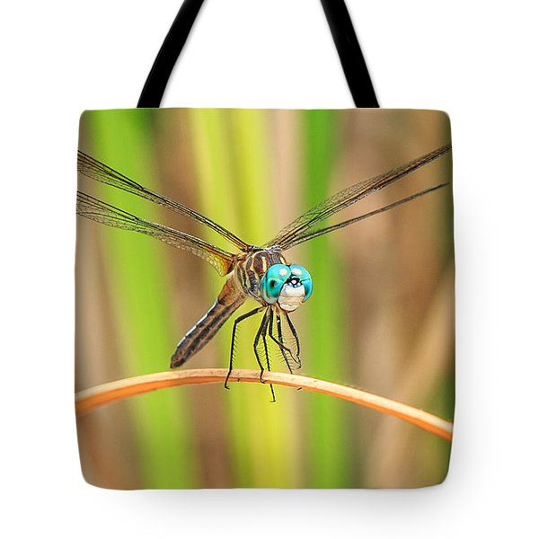 Dragonfly Tote Bag by Everet Regal
