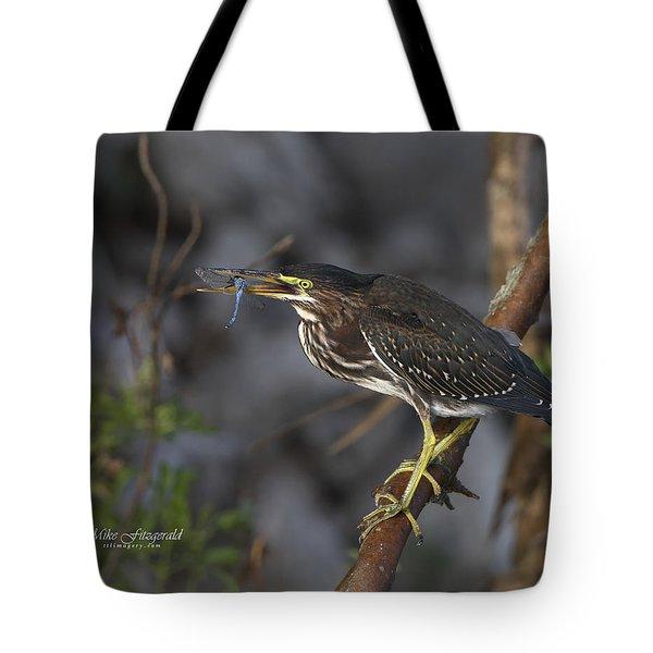 Dragonfly Flip Tote Bag