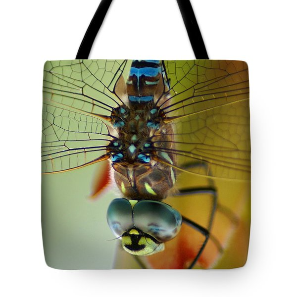 Dragonfly In Thought Tote Bag