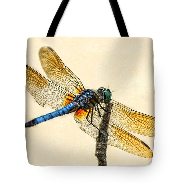 Dragonfly Tote Bag by Jim Moore