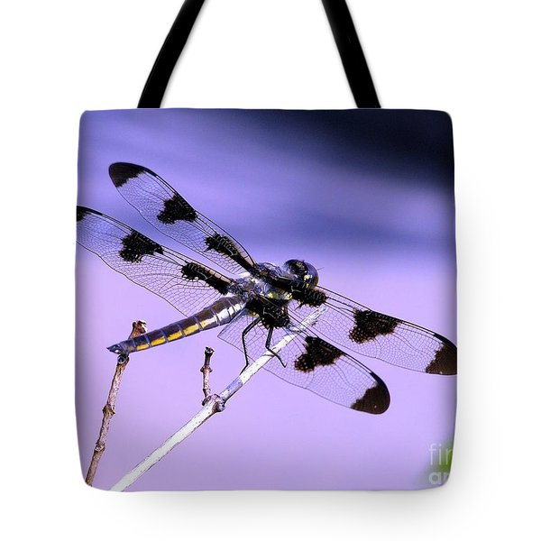 Dragonfly Tote Bag by Susan  Dimitrakopoulos
