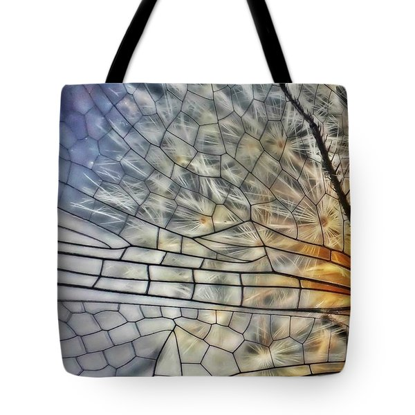 Dragonfly Wing Tote Bag