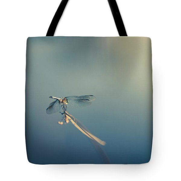 Tote Bag featuring the photograph Dragonlady by Shane Holsclaw