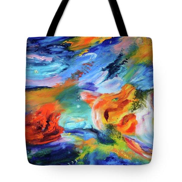 Dragon's Head Nebula Tote Bag