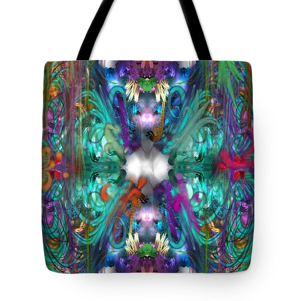 Dragons Of The Temple Tote Bag