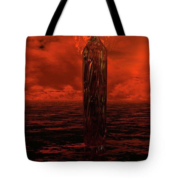 Dragon's Spire Tote Bag