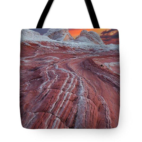 Dragons Tail Sunrise Tote Bag
