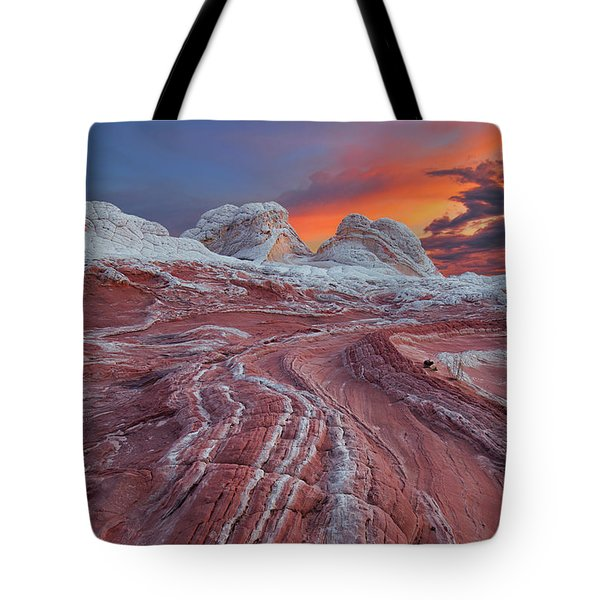 Dragons Tail Sunrise Tote Bag