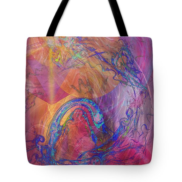 Dragon's Tale Tote Bag by John Beck