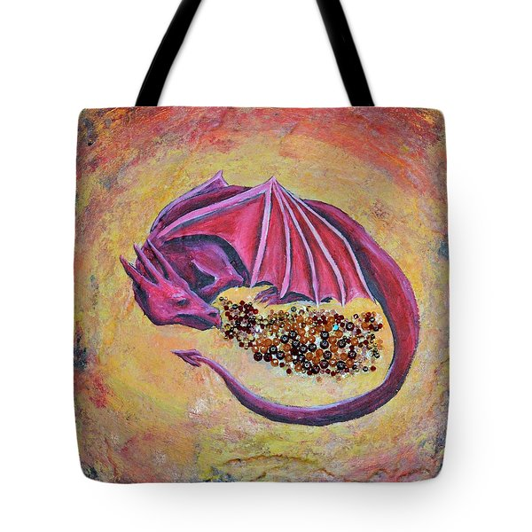 Dragon's Treasure Tote Bag