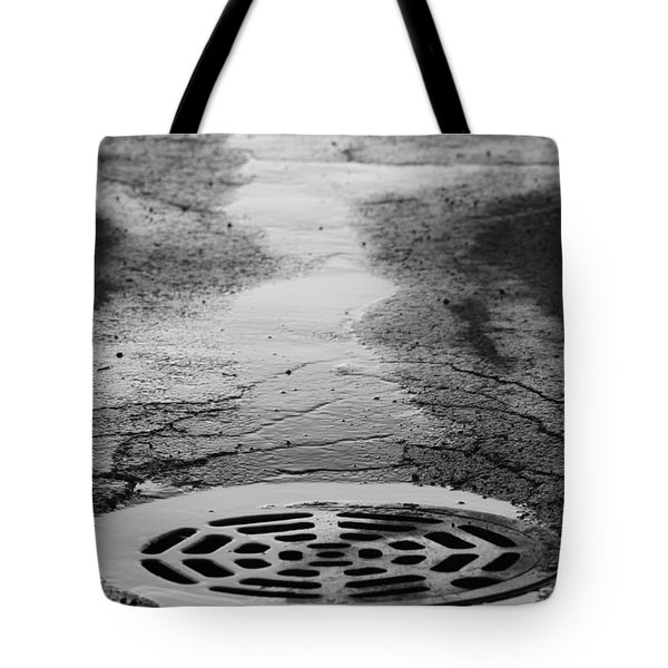 Drained Tote Bag by Lauri Novak