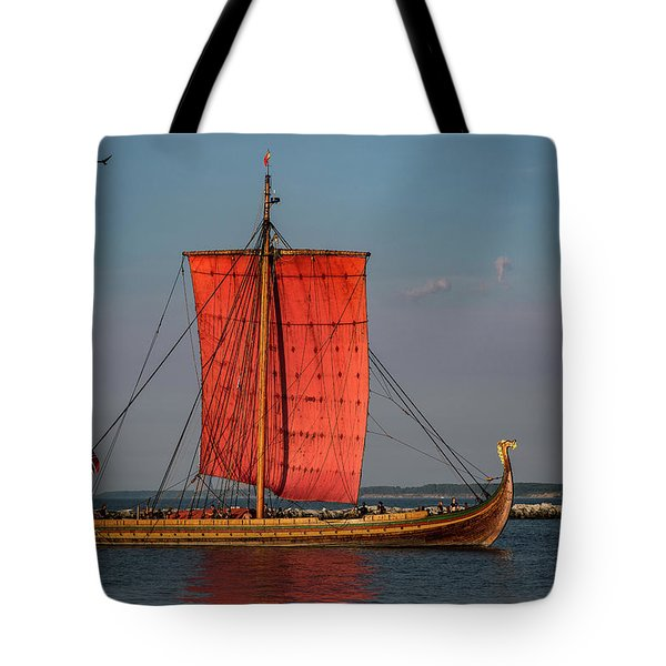Draken Harald Harfagre Tote Bag