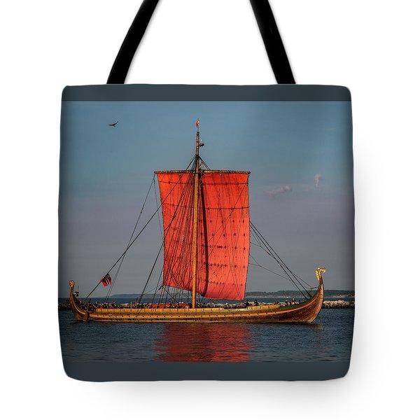 Draken Harald Harfagre Tote Bag by Dale Kincaid