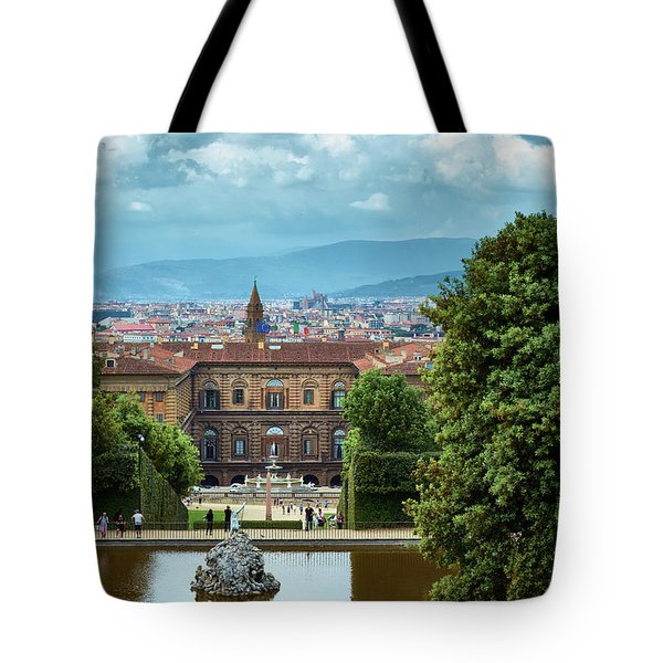Drama In The Palace Of Firenze Tote Bag