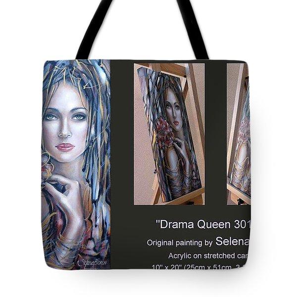 Drama Queen 301109 Tote Bag by Selena Boron