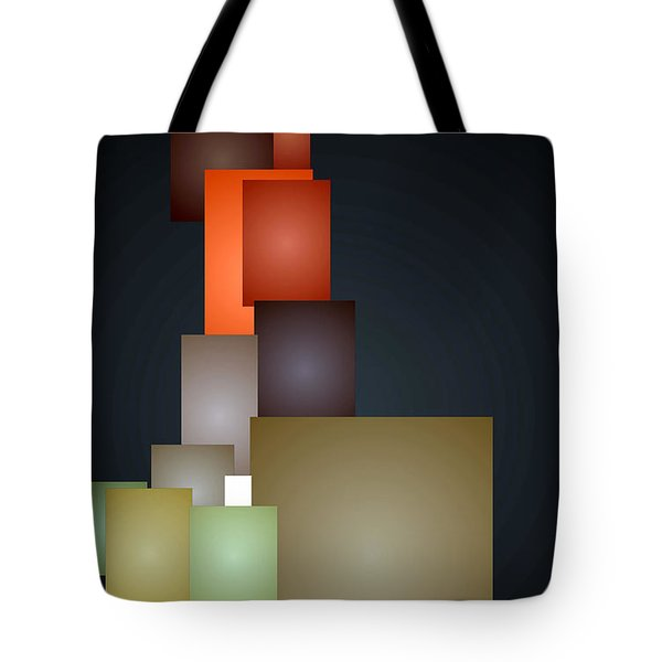 Dramatic Abstract Tote Bag