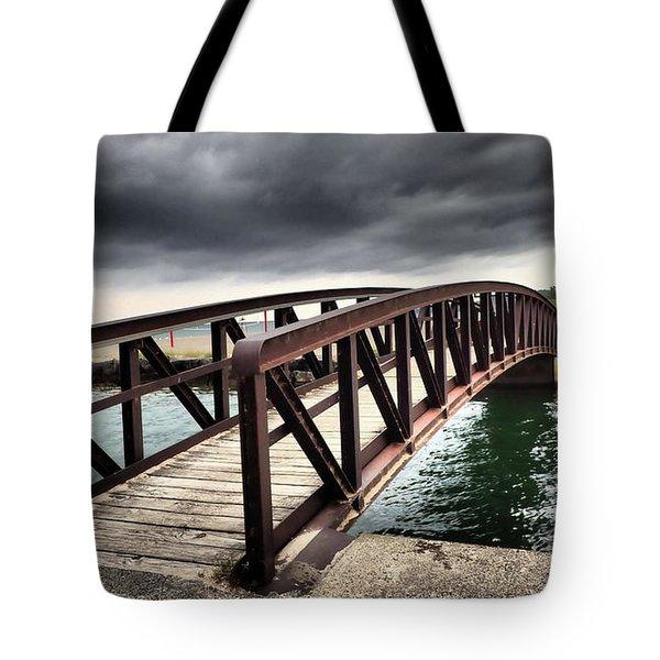 Dramatic Bridge Tote Bag