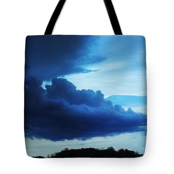 Dramatic Clouds Tote Bag