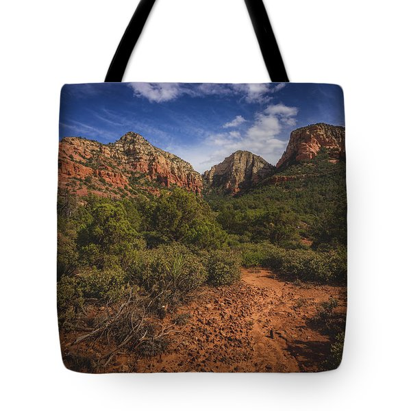 Dramatic Cloudscape Over Capitol Butte Tote Bag
