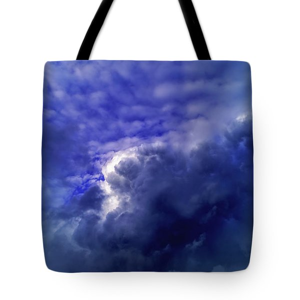 Dramatic Cumulus Sky Tote Bag