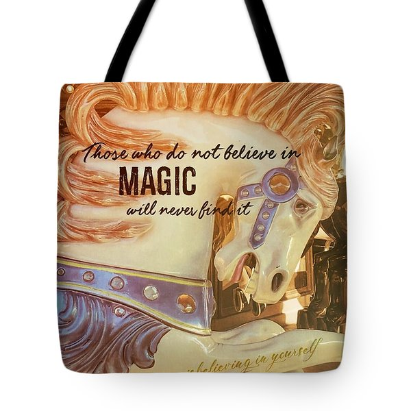 Dramatic Flair Quote Tote Bag