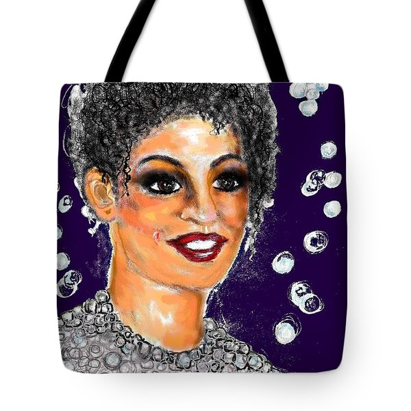 Dramatic Flare Tote Bag by Desline Vitto