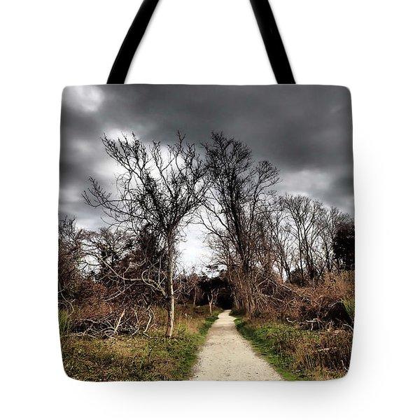 Dramatic Landscape At Elizabeth Morton Tote Bag