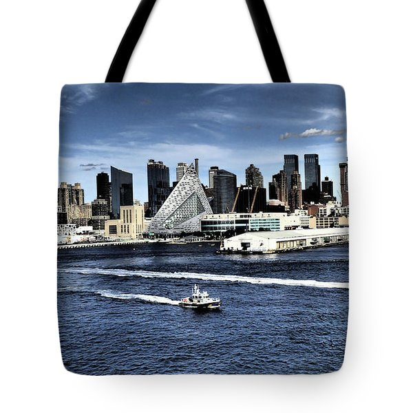 Dramatic New York City Tote Bag