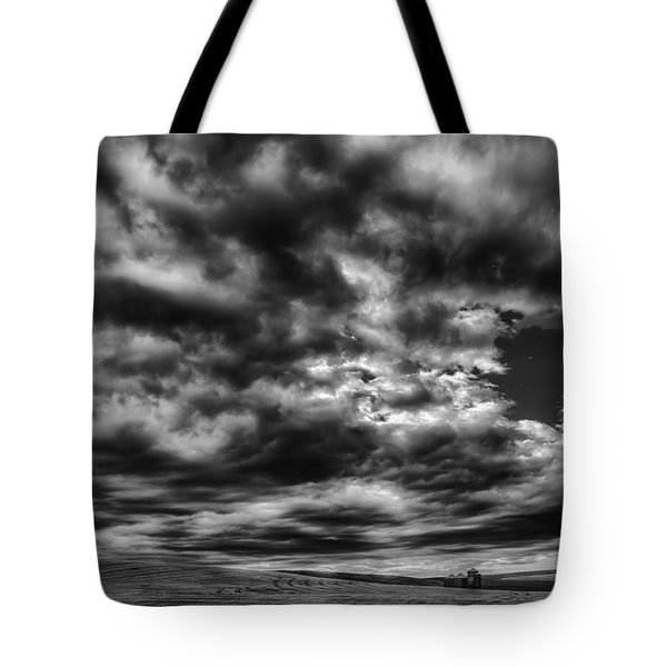 Dramatic Palouse Sky Tote Bag