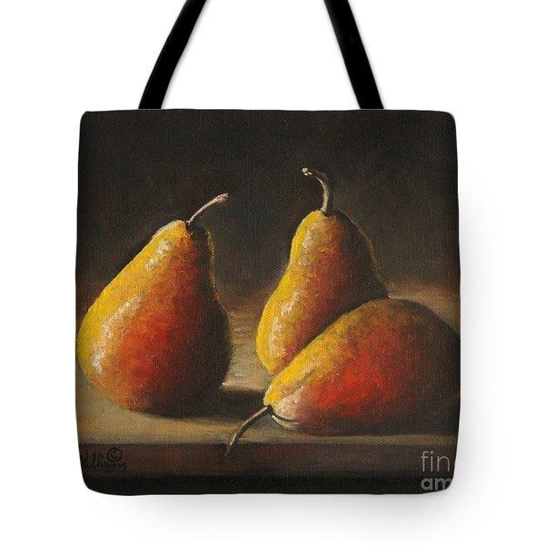Dramatic Pears Tote Bag
