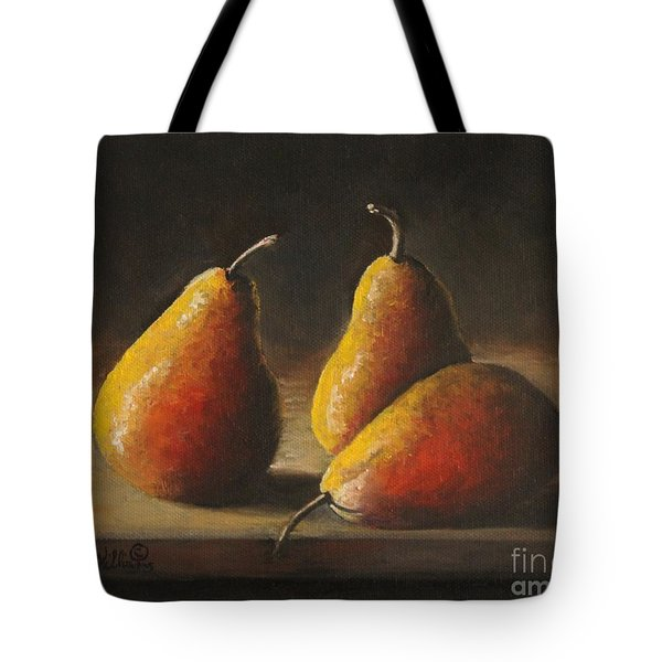 Dramatic Pears Tote Bag