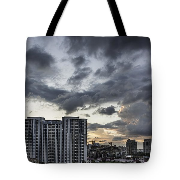 Dramatic Tote Bag by Rajiv Chopra