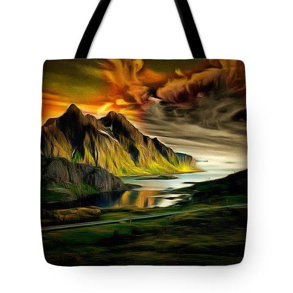 Dramatic Skies Tote Bag