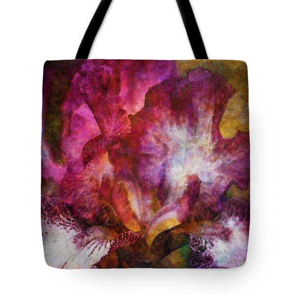 Dramatic White And Purple 0273 Idp_2 Tote Bag