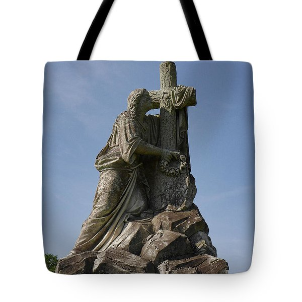 Draped Cross Tote Bag