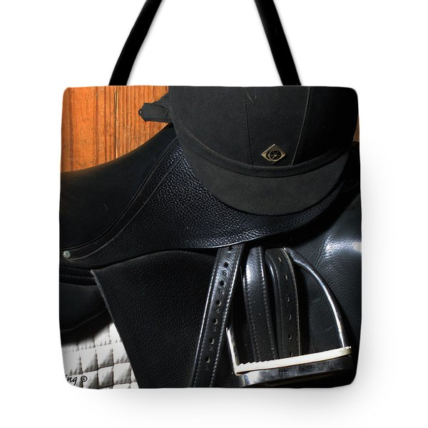 Drassage Ready Tote Bag by Roena King