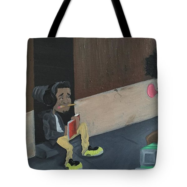 Draw Me Tote Bag by McKinson  Souverain