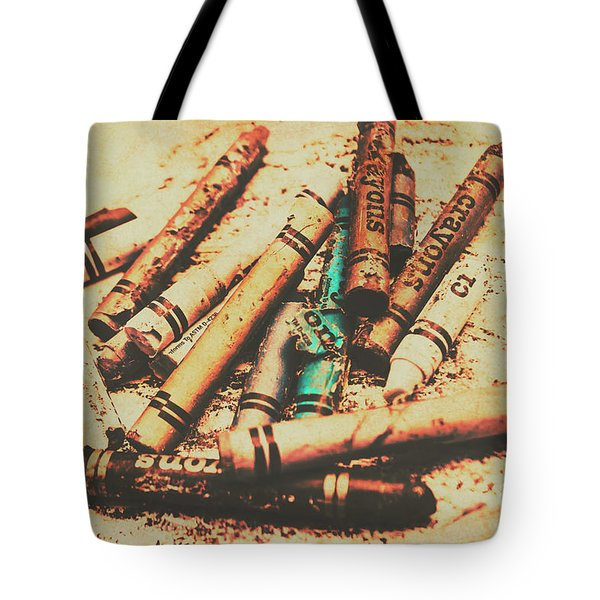 Draw Of Vintage Art Tote Bag