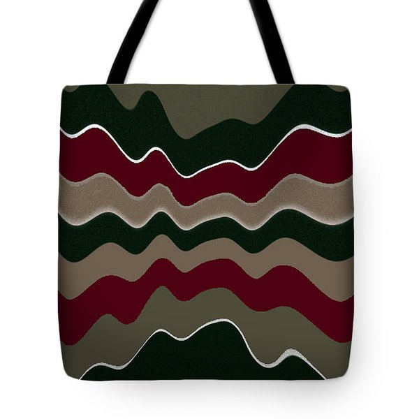Draw The Line Original Abstract Expressionism Art Painting. Tote Bag