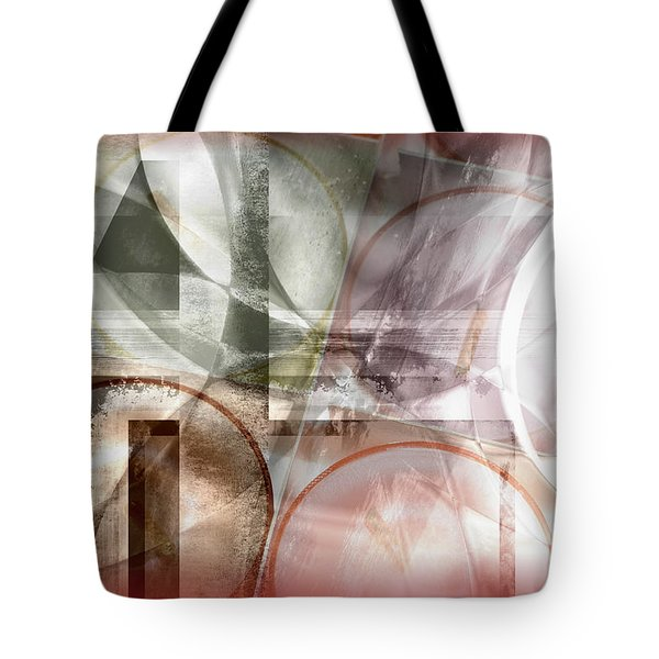 Drawing On A Frozen Lake Tote Bag